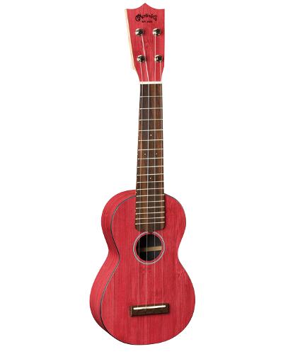 Martin 0X Red Bamboo Ukulele