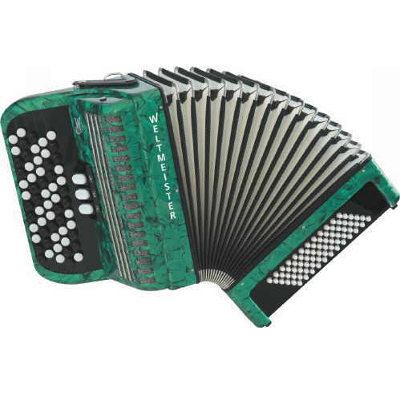 Weltmeister Knopf Chromatic Accordion 60/72/III/5