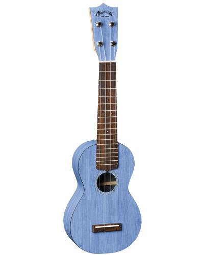 Martin 0X Blue Bamboo Ukulele