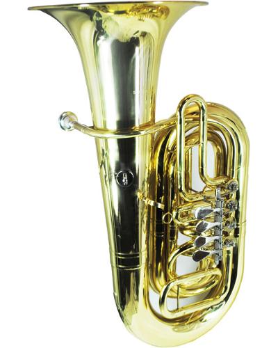 Schiller American Heritage CC Tuba 4 Valve Rotary 3/4 Size