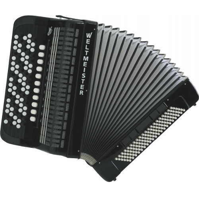 Weltmeister Knopf Chromatic Accordion 87/120/IV/11/5