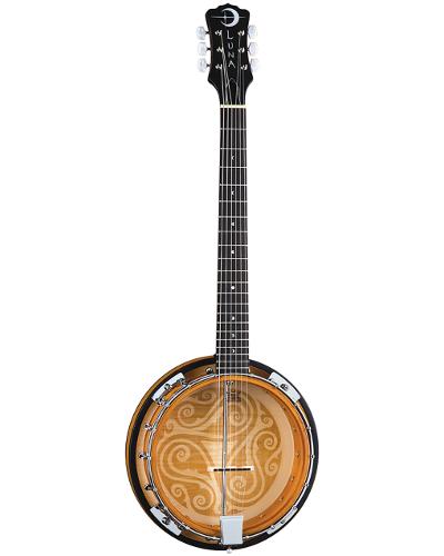Luna Banjo Celtic 6 String - BGB CEL 6