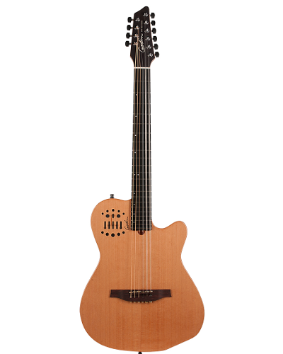 Godin 38169 A10 Ten String Natural Finish Acoustic Electric with Custom RMC