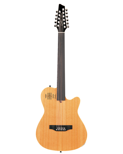 Godin 17706 A11 Glissentar Cognacburst Acoustic Electric with Custom RMC