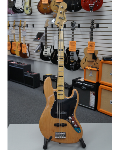Fender® Squier® Vintage Modified Jazz Bass® '70s Electric Bass - Natural