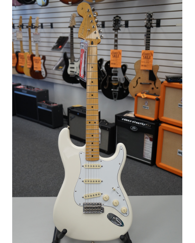 Fender® Jimi Hendrix Stratocaster® Electric Guitar Olympic White