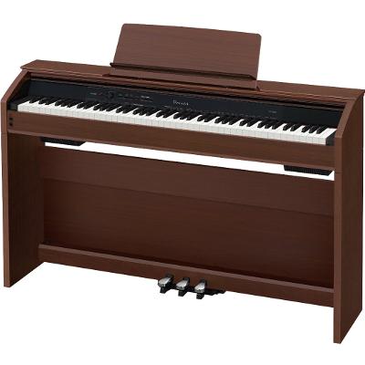 Casio PX860BN Privia Digital Home Piano - Natural Brown