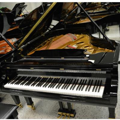 Mason & Hamlin AA Grand Piano - Black Polish