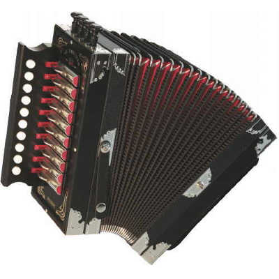Weltmeister Deutsche Button Accordion Black