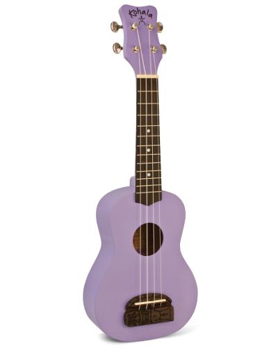 Kohala KT-SPU Tiki Uke Purple Soprano Ukulele