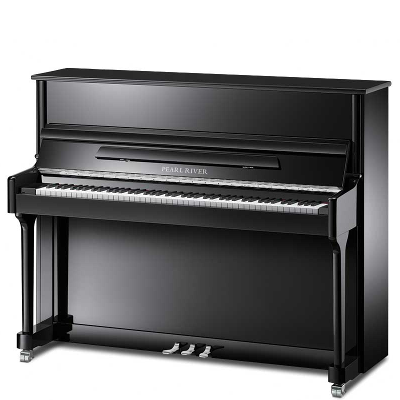 Pearl River Model EU118S Classic Studio Upright Piano