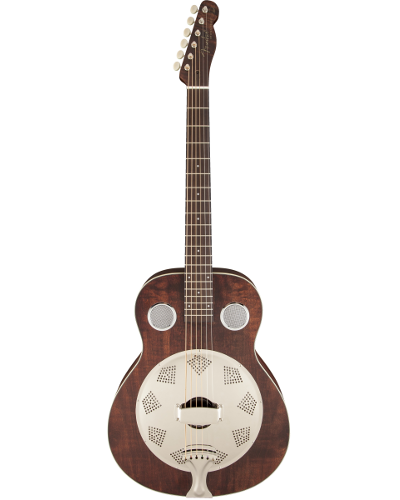 Fender® Brown Derby Resonator Acoustic Guitar