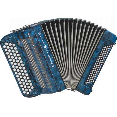 Weltmeister Französisches Knopf Chromatic Accordion 60/80/II/2