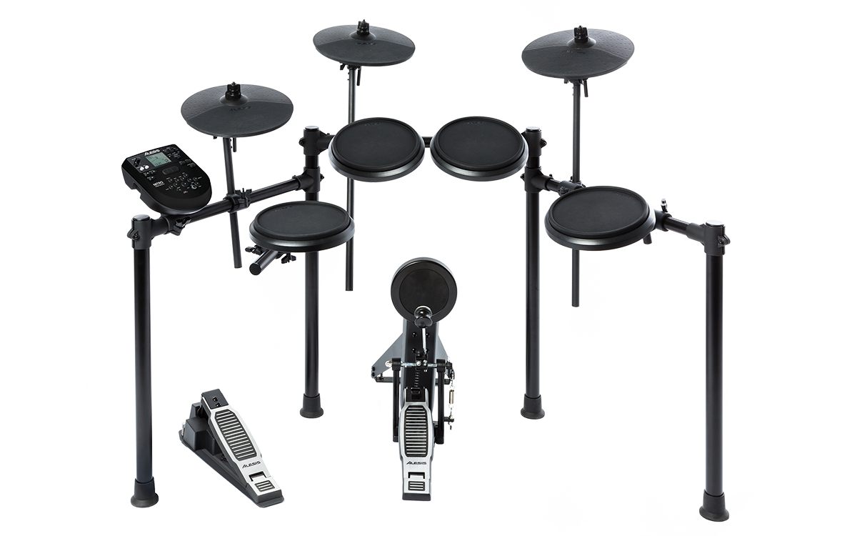 Alesis Nitro Kit Eight-Piece Electronic Drum Kit with Nitro Drum Module W/Sticks