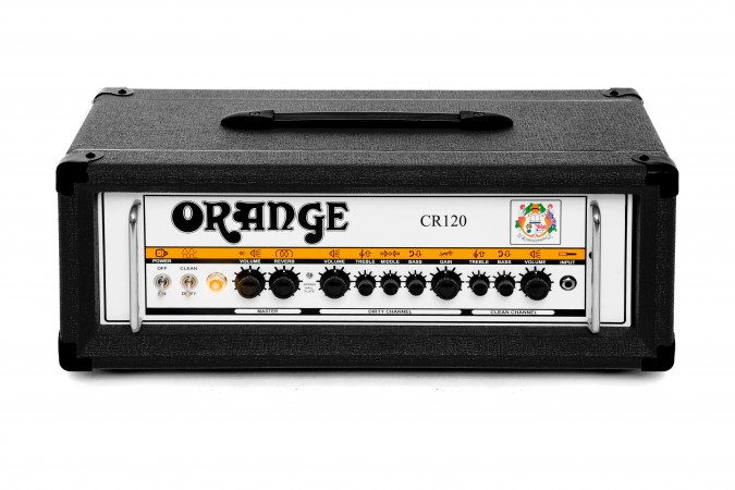 Orange CR120H Crush Pro 120W Black Guitar Amp Head
