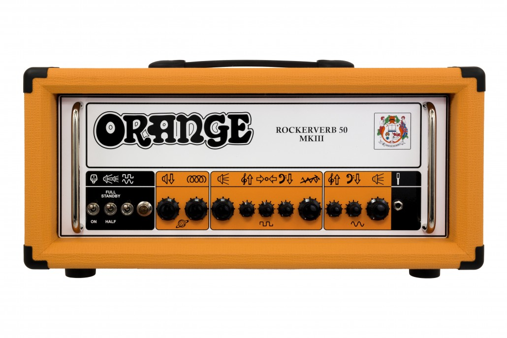 Orange Rockerverb 50 MKIII Guitar Amp Head