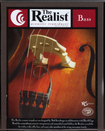 The Realist Acoustic Upright Bass Pickup