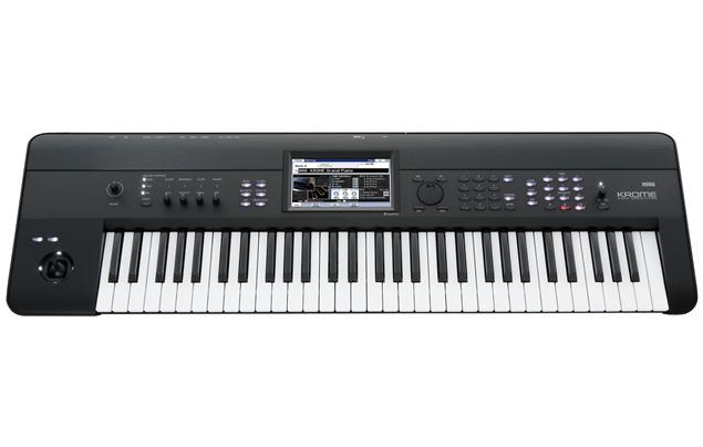 Korg - Krome 61-Key Workstation Keyboard - Black