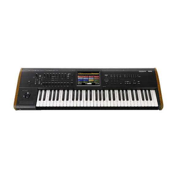 Korg Kronos 6 61 Key Workstation w/TouchView Display and Onboard Effects