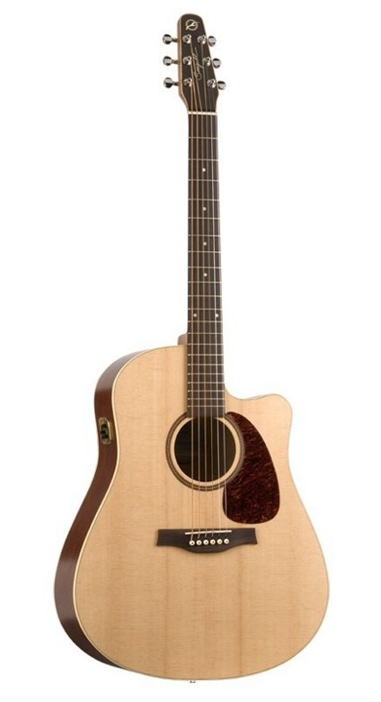 Seagull Coastline S6 Slim CW Spruce QI Acoustic-Electric Guitar