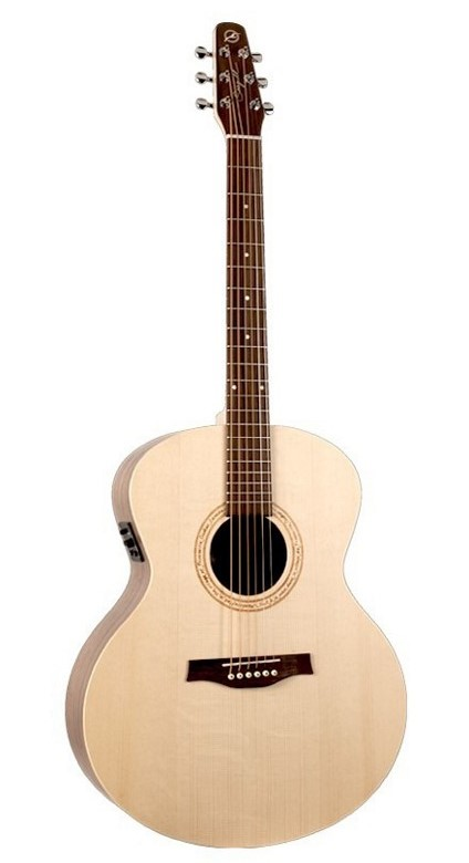 Seagull Excursion Walnut Mini Jumbo SG Acoustic-Electric Guitar