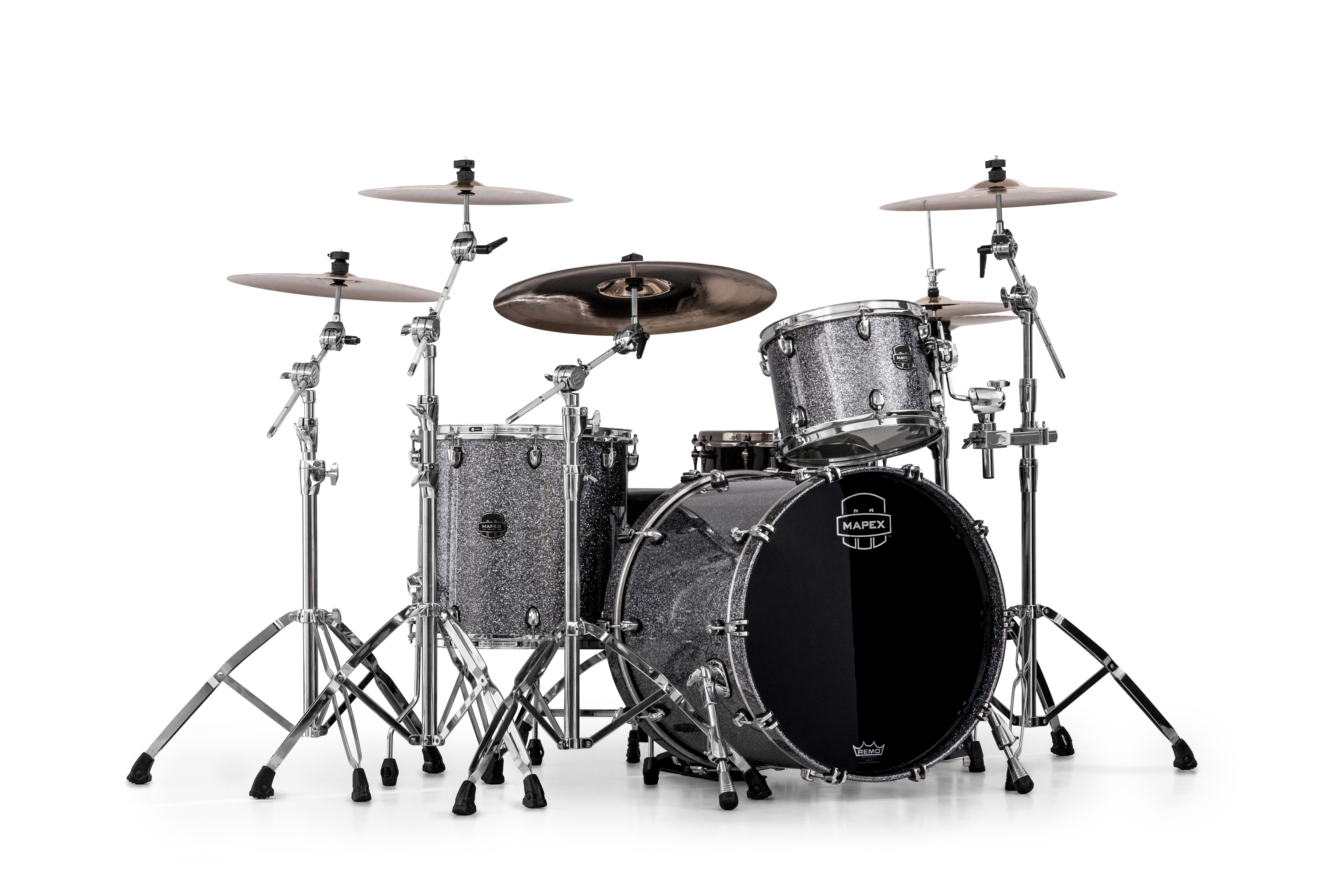 Mapex Saturn V MH Rock 3-piece shell pack with SONIClear Edge - SV426XQL - Granite Sparkle
