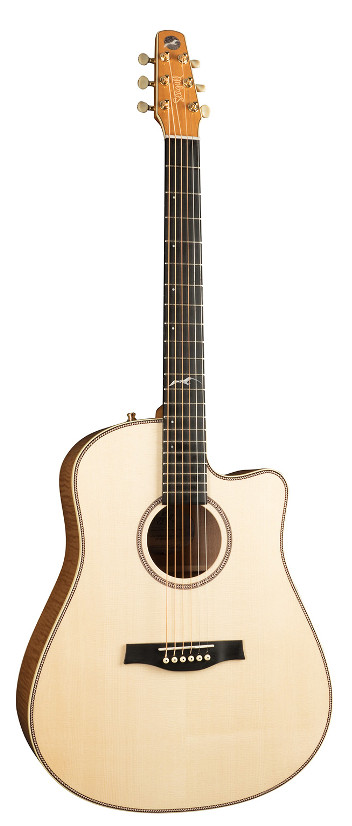 Seagull Artist Peppino CW QII Acoustic Electric Guitar
