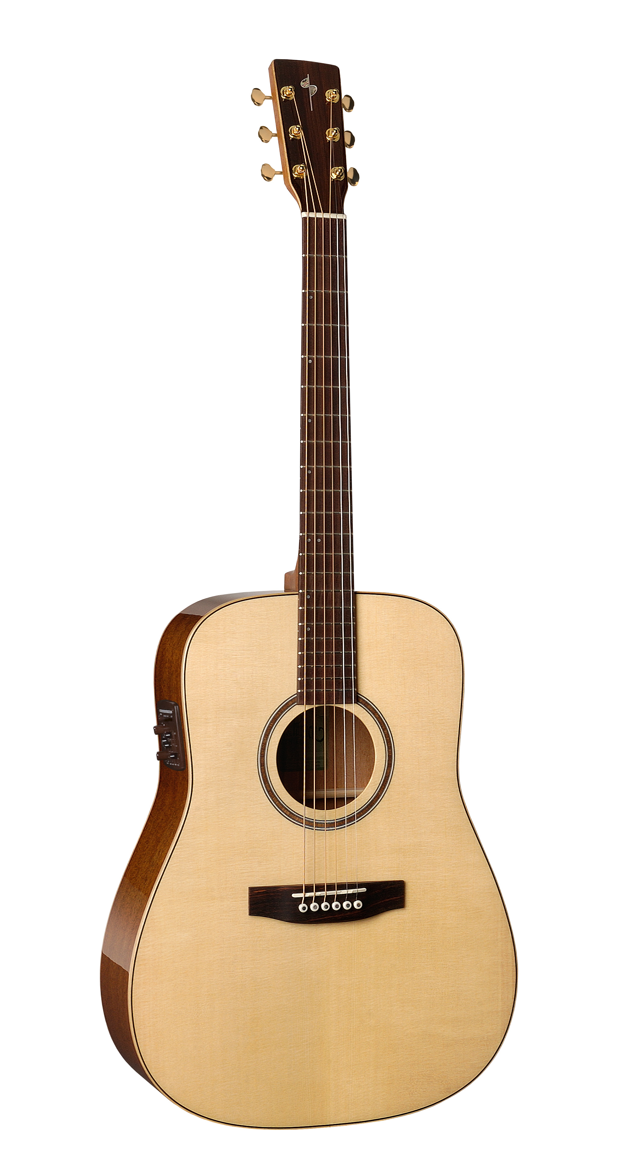 Simon & Patrick 33263 Showcase Mahogany Acoustic Electric Guitar w/ B-Band A6T