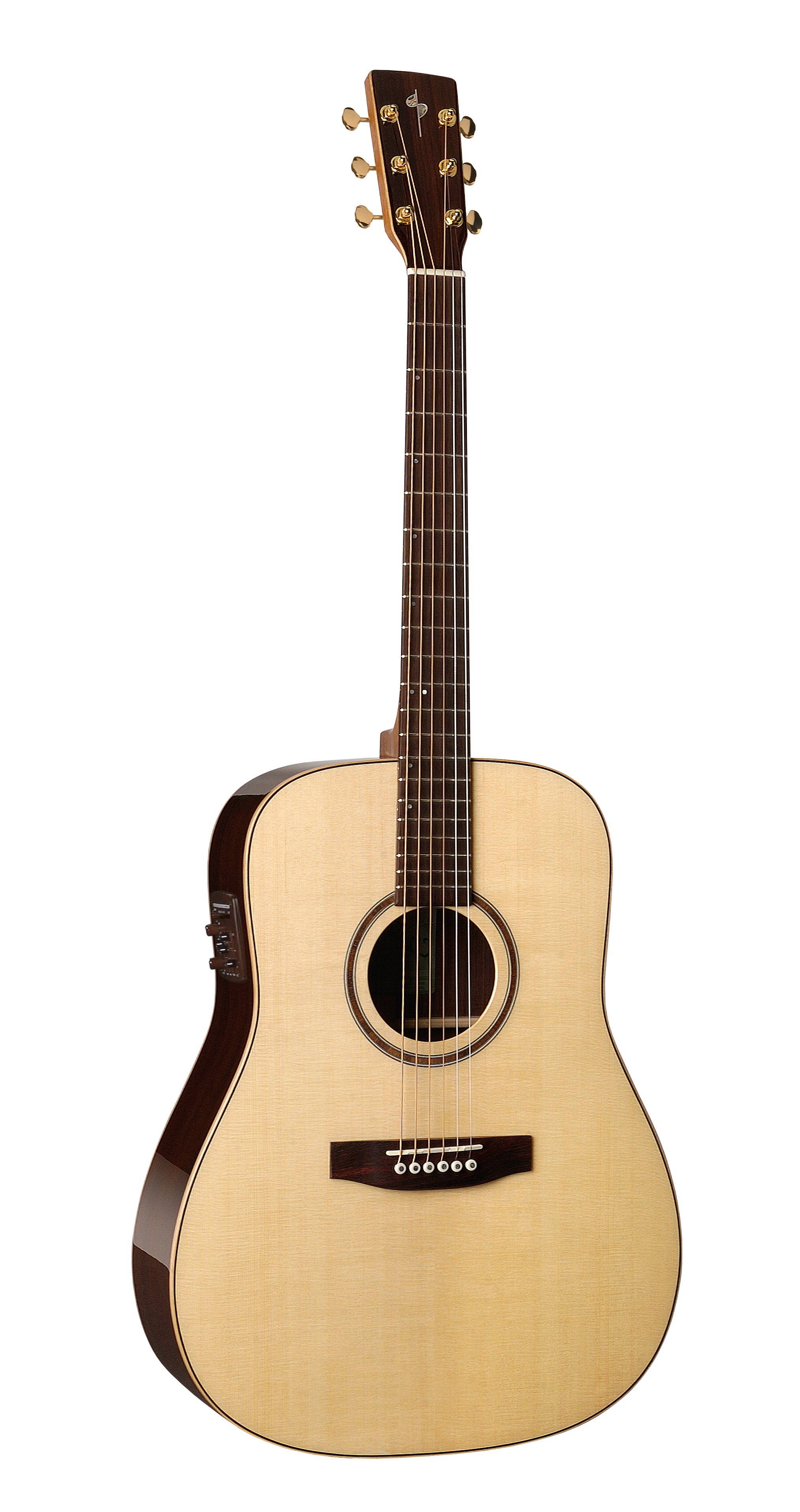 Simon & Patrick 33287 Showcase Rosewood Acoustic Electric Guitar w/ B-Band A6T