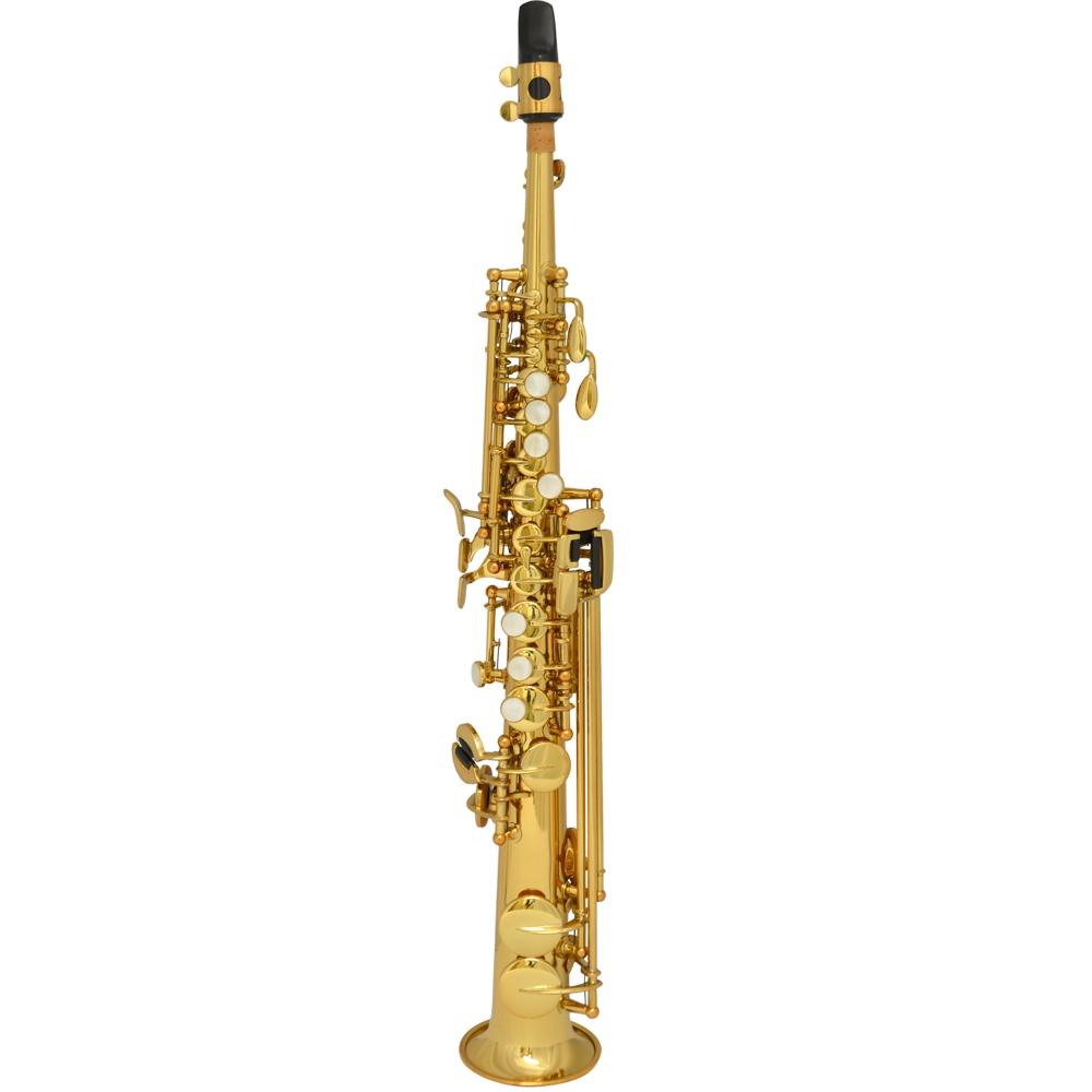 Schiller La Première Sopranino Saxophone - Gold Lacquer
