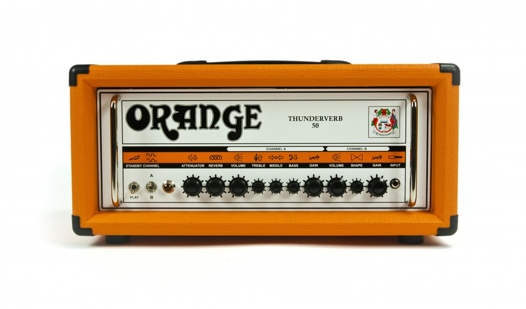 Orange Thunderverb 50 Guitar Amp Head