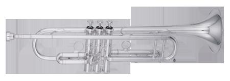 Kanstul Model 1502 Bb Trumpet