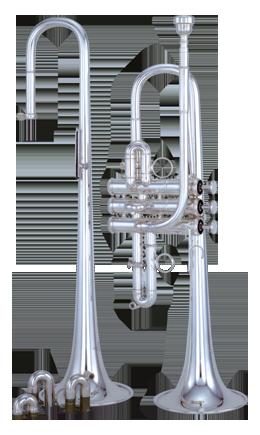 Kanstul Model 1523 Eb/D Trumpet