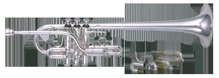 Kanstul Model 923 Eb/D Trumpet