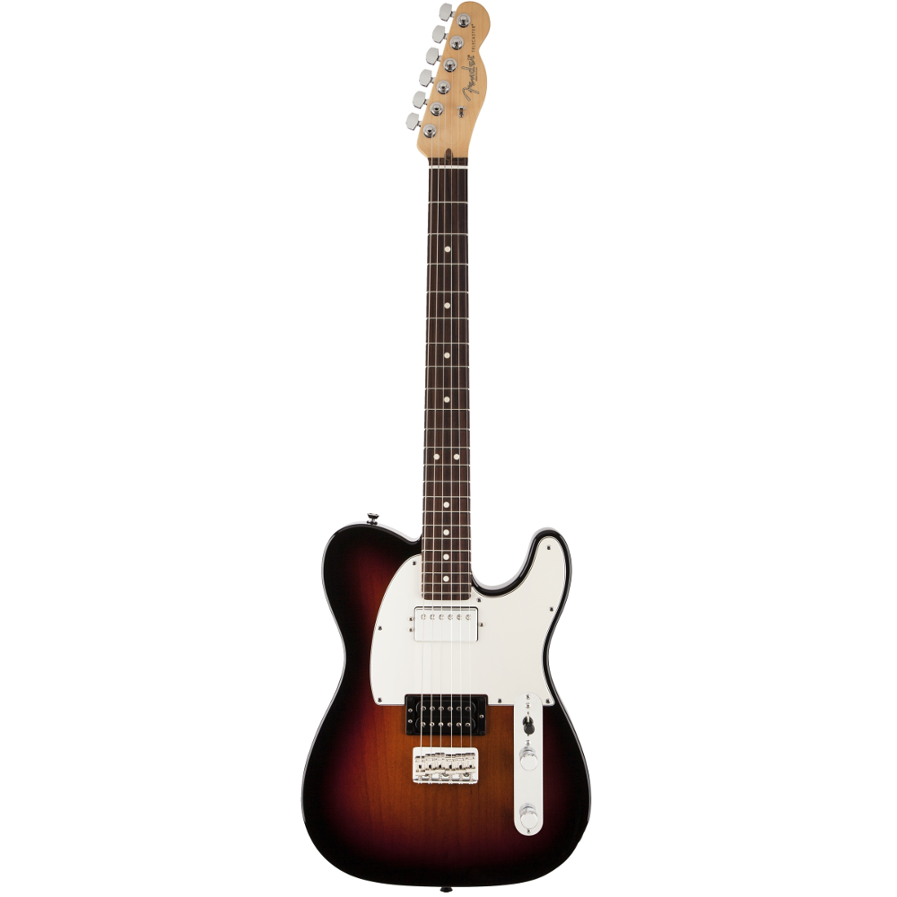 Fender American Standard Telecaster® HH 3-Color Sunburst RN Electric Guitar