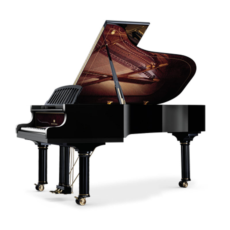 Schimmel Meisterstucke Nikolaus Wilhelm Schimmel Edition Grand Piano - Ebony High Gloss
