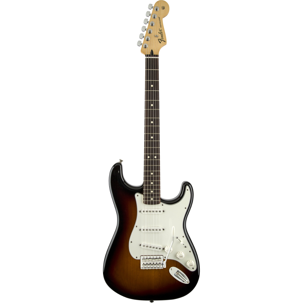 Fender Standard Stratocaster® Brown Sunburst Rosewood Fingerboard Electric Guitar