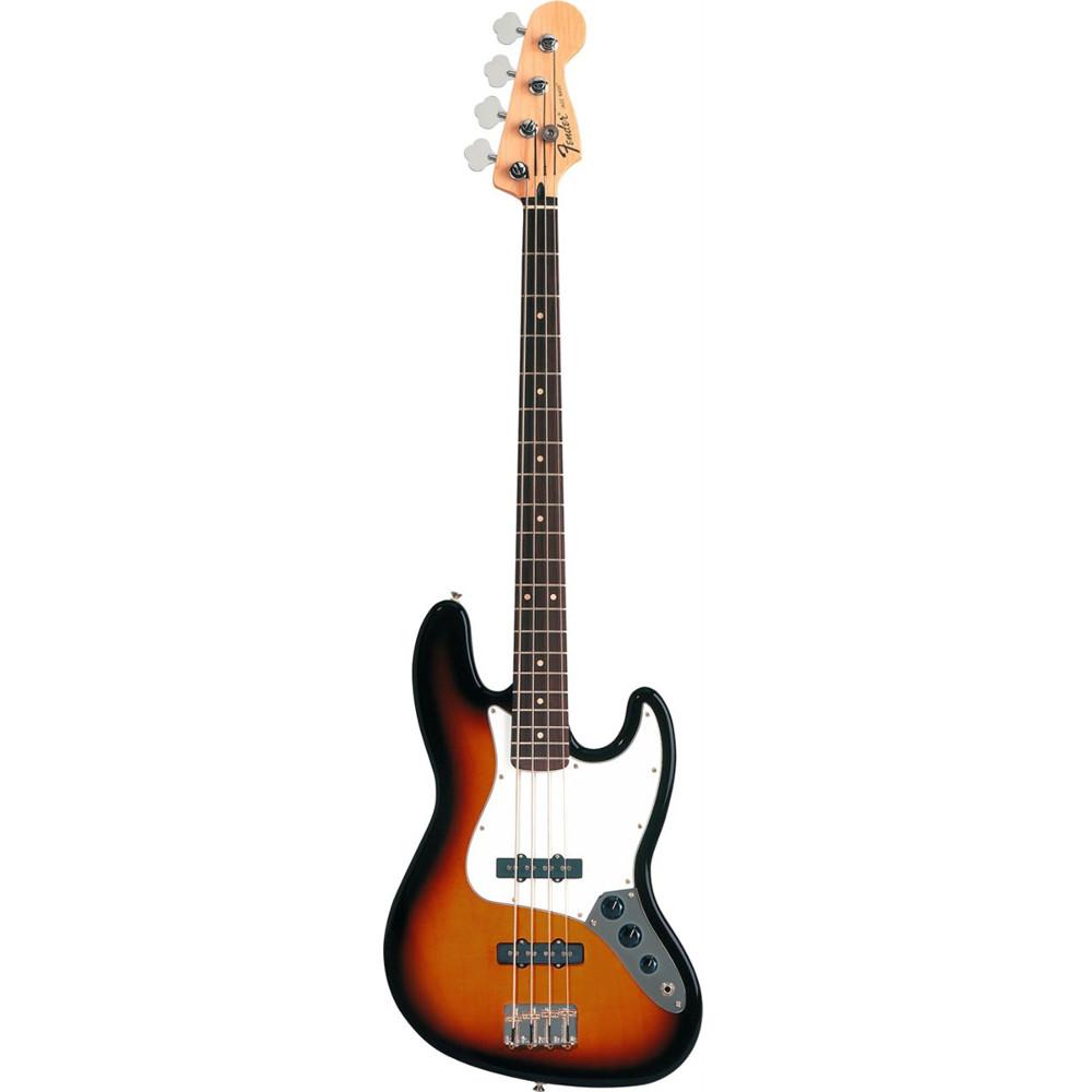 Fender Standard Jazz Bass® Brown Sunburst Rosewood Fingerboard Electric Bass Guitar