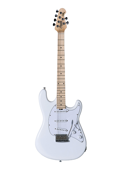 Sterling by Music Man - Cutlass Guitar Olympic White
