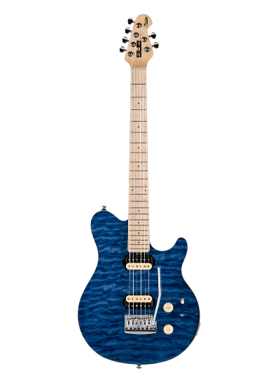 Sterling by Music Man - AX3 - S.U.B. Trans Blue - USA & Canada