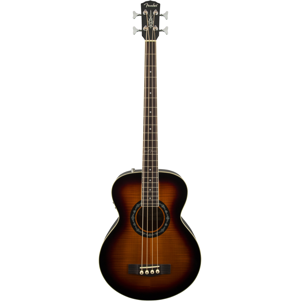 Fender T-Bucket™ Bass E 3-Color Sunburst Rosewood Fingerboard Acoustic Electric Bass Guitar