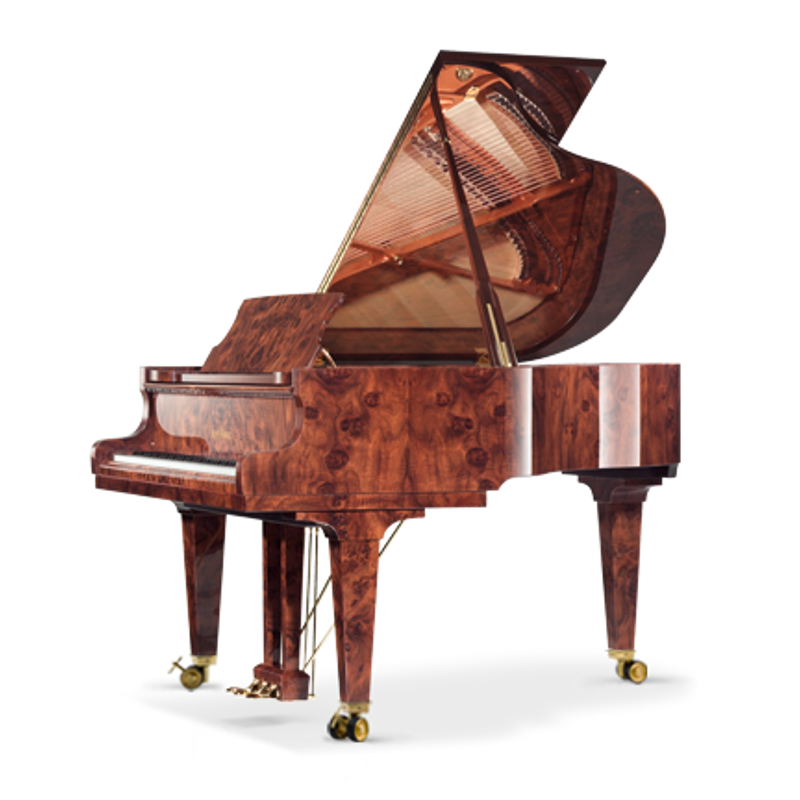 Schimmel Meisterstucke Royal Wood Grand Piano - Macassar High Gloss