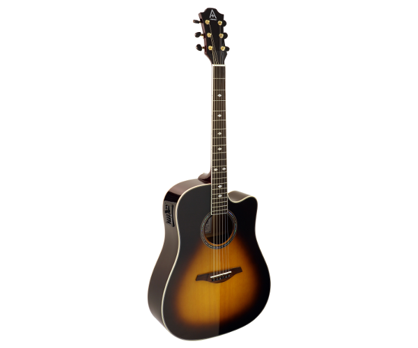 hohner as355ce tsb cutaway acoustic electric dreadnought guitar jim laabs music store. Black Bedroom Furniture Sets. Home Design Ideas