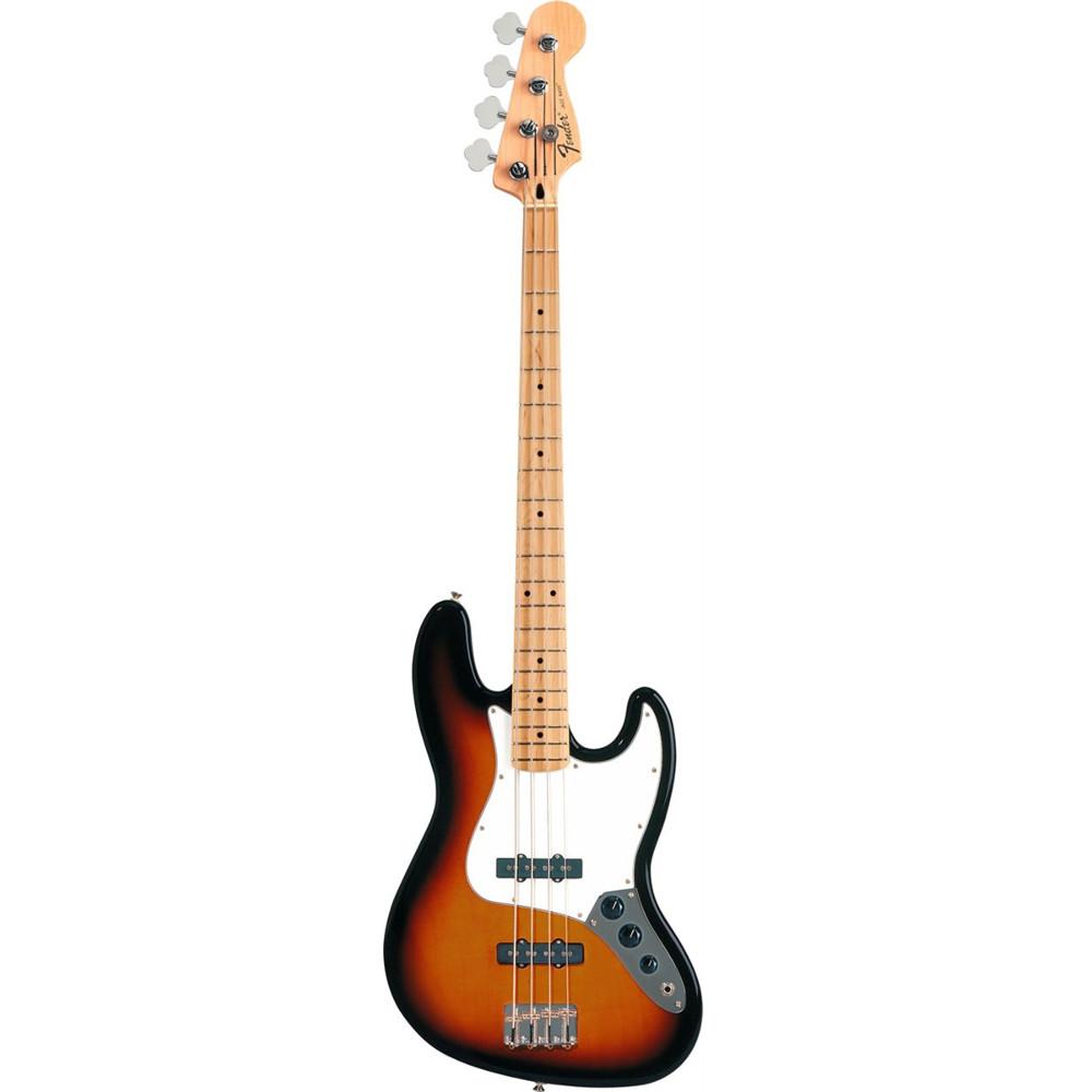 Fender Standard Jazz Bass® Brown Sunburst Maple Fingerboard Electric Bass Guitar