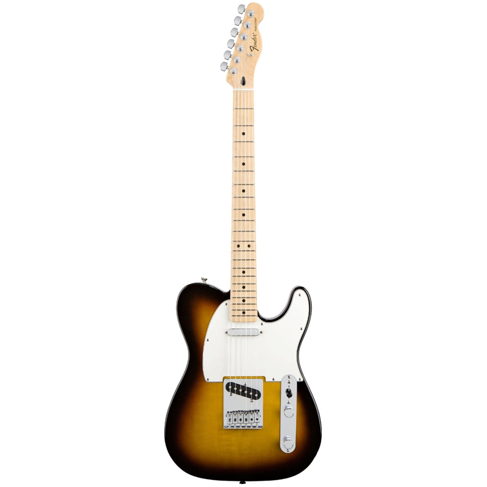 Fender Standard Telecaster® Brown Sunburst Maple Electric Guitar
