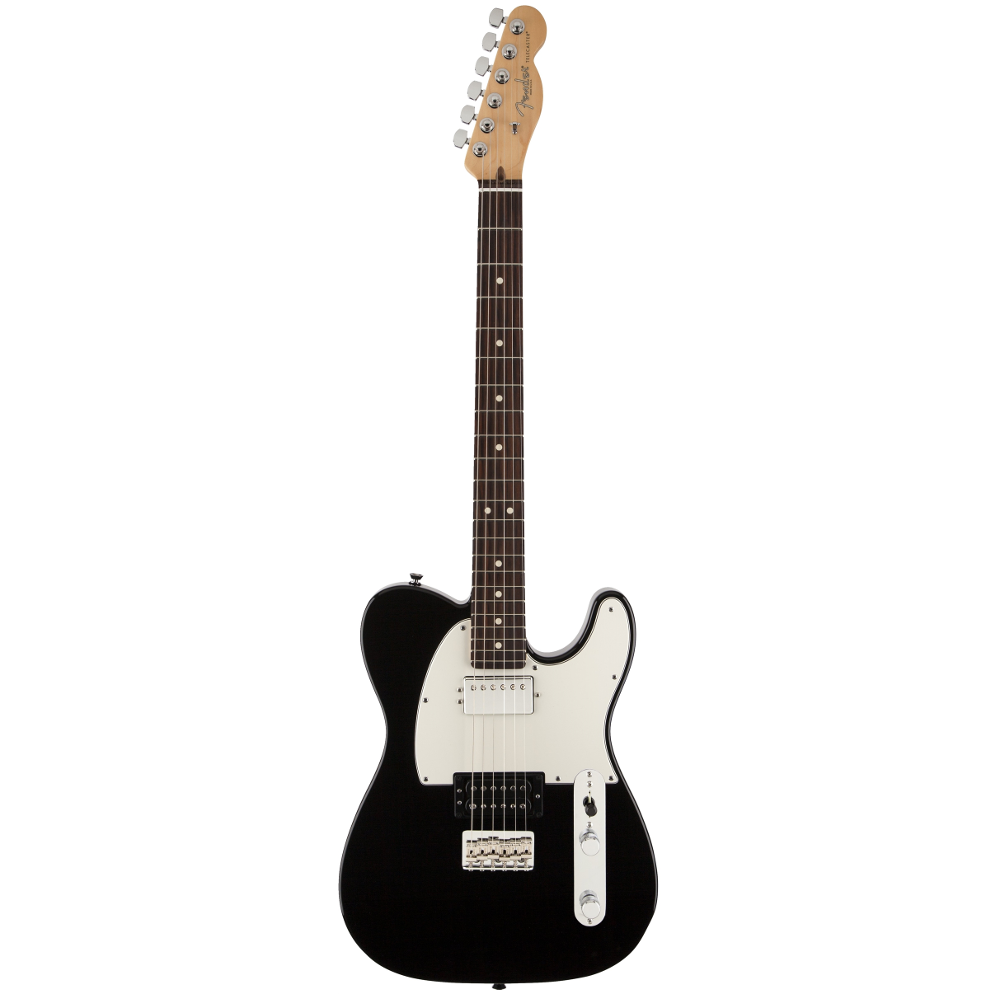 Fender American Standard Telecaster® HH Black RN Electric Guitar