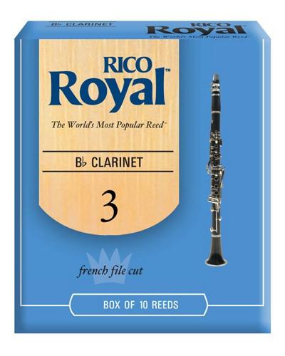 Rico Royal Bb Clarinet Reeds (Box of 10)
