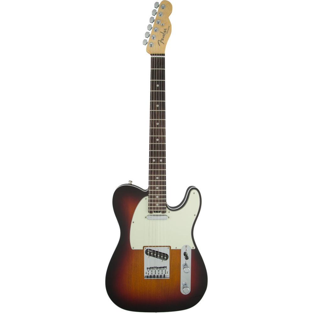Fender American Elite Telecaster® 3-Color Sunburst Rosewood Fingerboard Electric Guitar