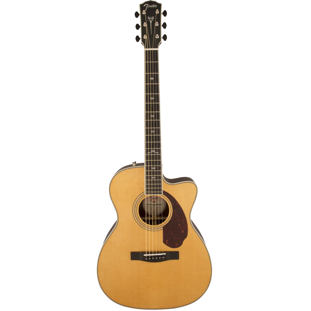Fender PM-3 Deluxe 000 Natural Acoustic Guitar