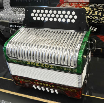 Hohner Classic II Button Accordion SOL GCF